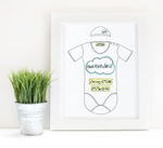 Load image into Gallery viewer, Neutral Cloud Personalised Baby Grow Print