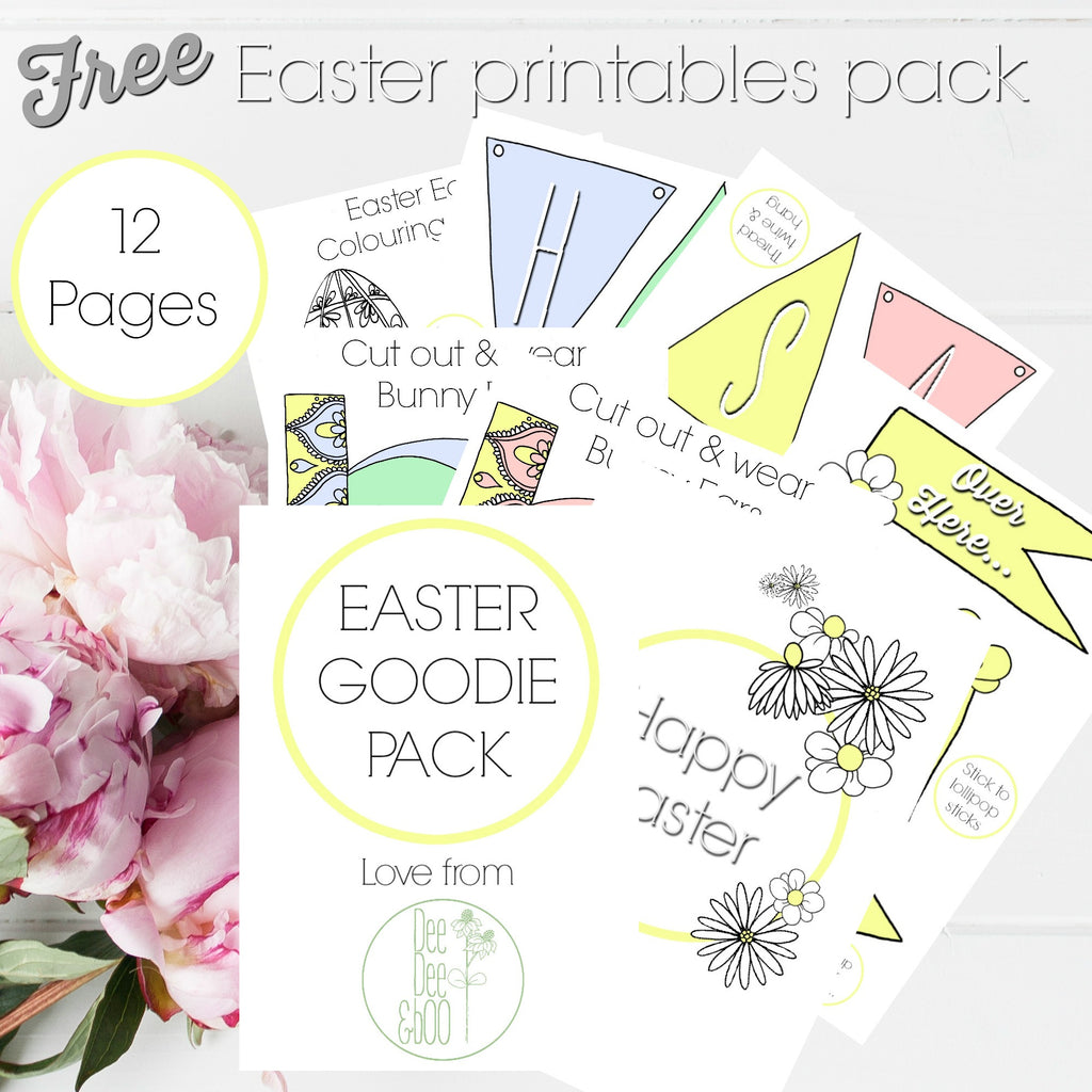 Free Easter Printables pack