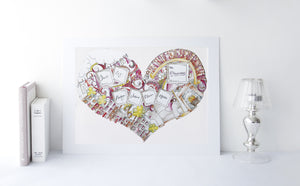 Personalised Family Home Print