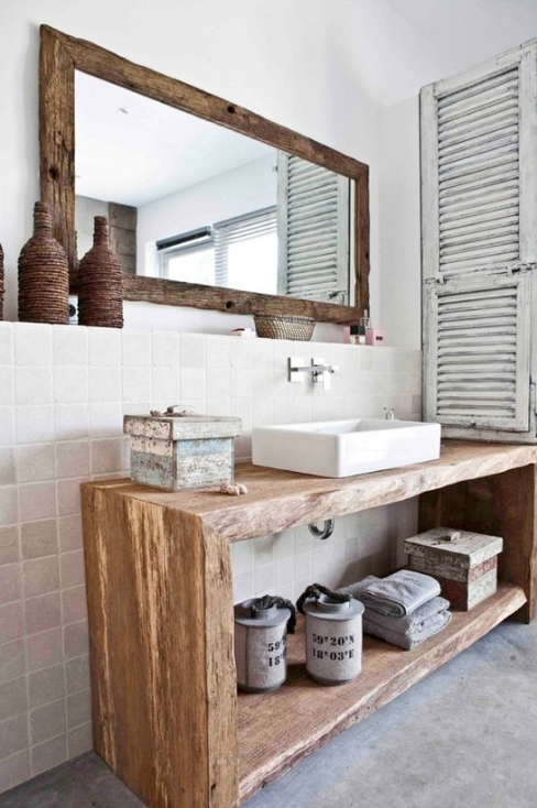 Shabby-Chic Bathrooms