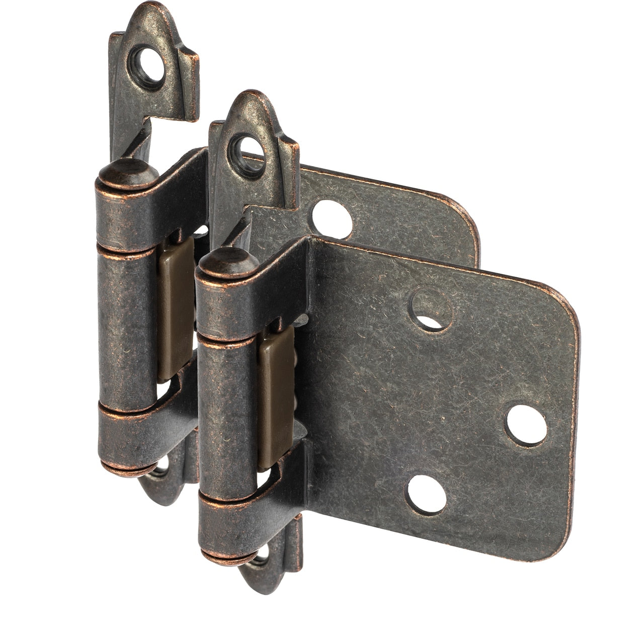 Cosmas 15539-ORB Oil Rubbed Bronze Hinge Variable Overlay (Pair)