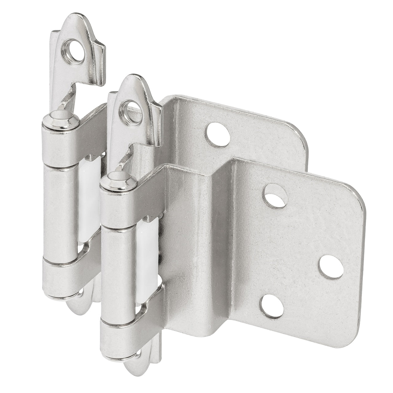 "Cosmas 15628-CH Polished Chrome Hinge 3/8"" Inset (Pair)"