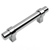 Cosmas 161-4CH Polished Chrome Euro Style Bar Pull