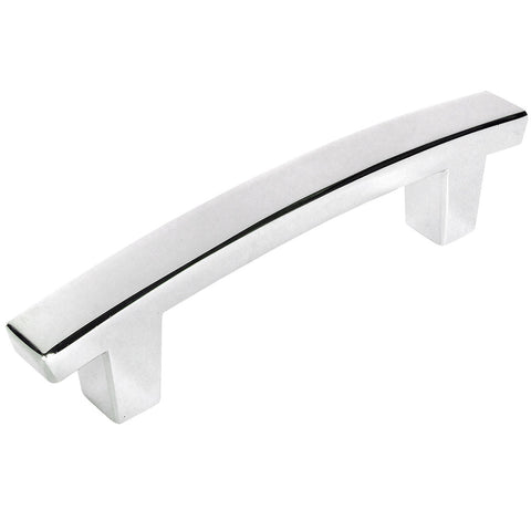 Cosmas 5235CH Polished Chrome Contemporary Arch Cabinet Pull - Cosmas
