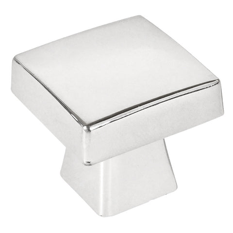 Cosmas 5233CH Polished Chrome Square Contemporary Cabinet Knob - Cosmas