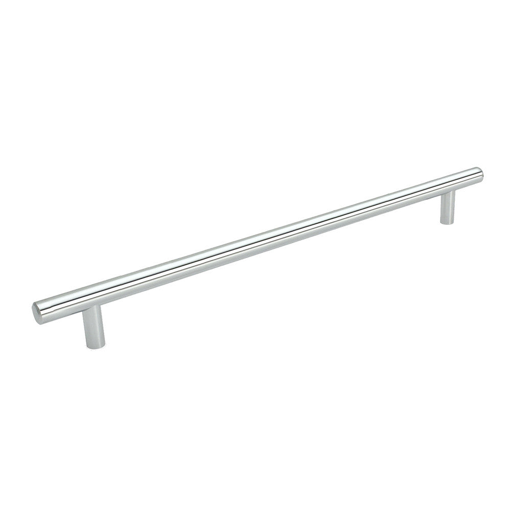 Cosmas 305-480CH Polished Chrome Euro Style Bar Pull - Cosmas
