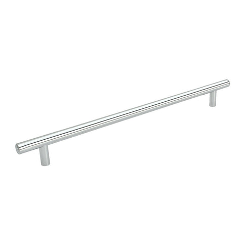 Cosmas 305-673CH Polished Chrome Euro Style Bar Pull - Cosmas