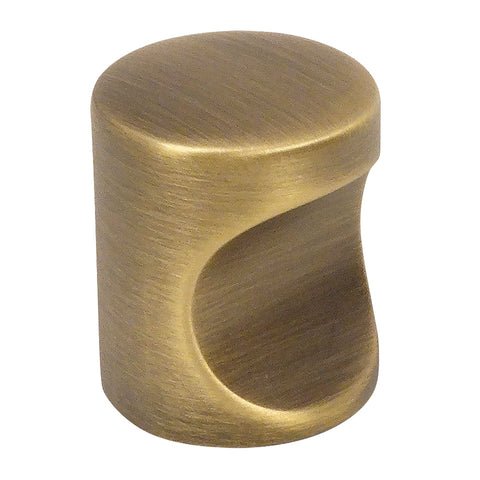 Cosmas 3312BAB Brushed Antique Brass Cabinet Knob