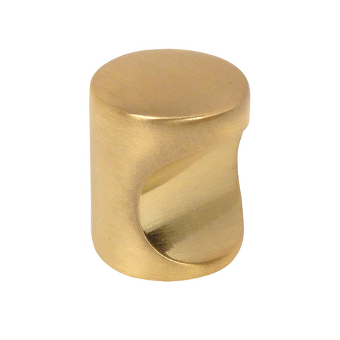 Cosmas 3312BB Brushed Brass Cabinet Knob
