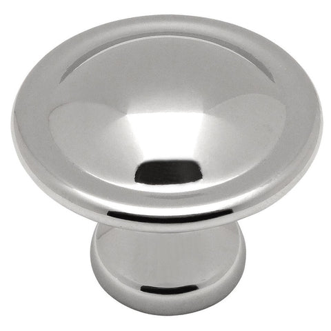 Cosmas 4539CH Polished Chrome Cabinet Knob - Cosmas