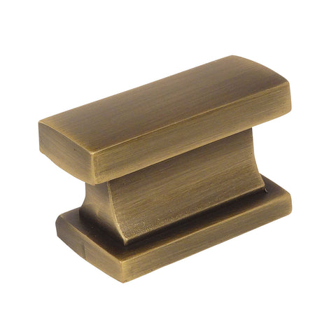 Cosmas 701BAB Brushed Antique Brass Contemporary Cabinet Knob - Cosmas