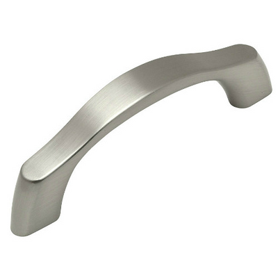 Cosmas 9444-3SN Satin Nickel Contemporary Cabinet Pull