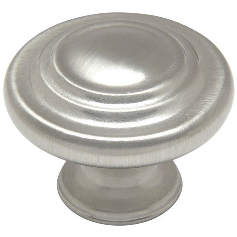 Cosmas 9971SN Satin Nickel 3 Ring Cabinet Knob