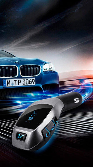 Bluetooth Handsfree/MP3 Car Kit with Stereo FM Transmitter, Buy Online – Curiocityworld.in