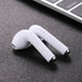 Bluetooth Stereo Earbuds with Noise Cancelling Handsfree Mic, HD sound, for iPhone, Android - White-Bluetooth Headphone Earphone Wireless Handsfree Universal for iphone and Android phones-BM-MINI-V2-ST-CurioCity-India