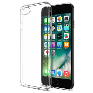 Soft Slim Transparent Crystal Clear Back Case Cover for Apple iPhone 7 (Transparent)-Mobile Phone Case Protective Cover-BM-I7-TPU-1-CurioCity-India