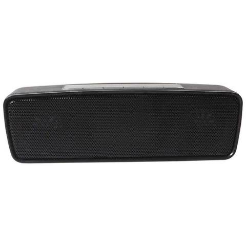 Versatile Bluetooth Speaker - BT Music/Handsfree, FM Radio, MicroSD, USB Pen Drive, AUX in - Black-Bluetooth Speaker Wireless Handsfree Speakerphone-BM-SPK-CS205M-CurioCity-India