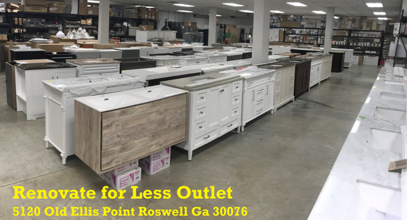 Overstock Clearance Bathroom Vanity Outlet in Roswell GA