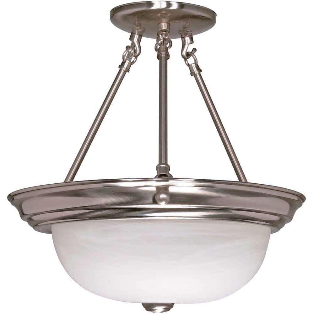 Semi Flush Nuvo Discount Lighting