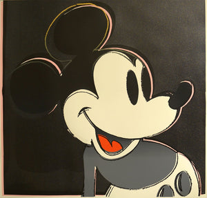 Andy Warhol Spotlight: Mickey Mouse in the Myths Portfolio