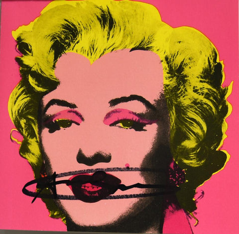 Marilyn (Announcement) 1981 by Andy Warhol
