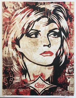 DEBBIE HARRY  by Frank Shepard Fairey (Obey)