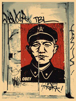 CHINESE SAN FRANCISCO  by Frank Shepard Fairey (Obey)