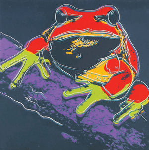 PINE BARRENS TREE FROG from Endangered Species Portfolio, 1983 by ANDY Warhol
