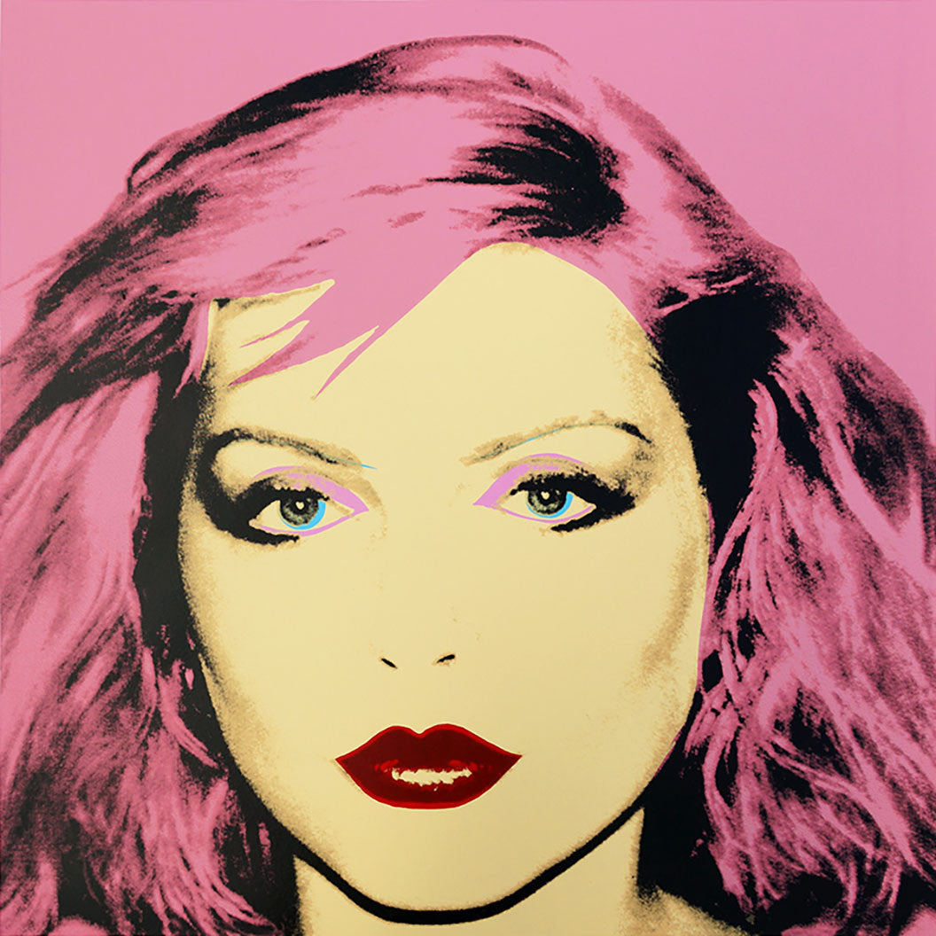 Debbie Harry 1980 red by ANDY Warhol