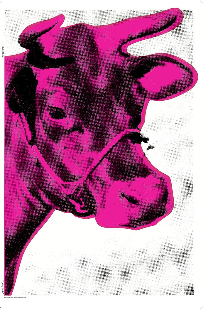 COW LA BIENNALE 1976 by ANDY Warhol