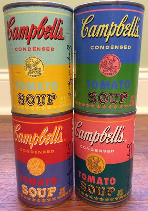 Four Campbell's Soup Can 2004 by ANDY Warhol