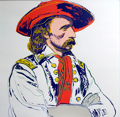 General Custer, from Cowboys and Indians, 1986 by ANDY Warhol