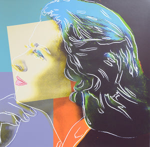 INGRID BERGMAN Herself,  1983 by ANDY Warhol