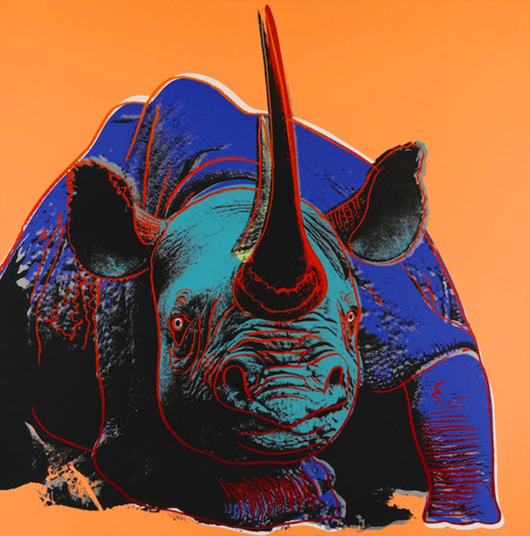 Endangered Species Portfolio, 1983 by ANDY Warhol