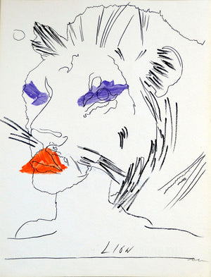 Lion  by ANDY WARHOL