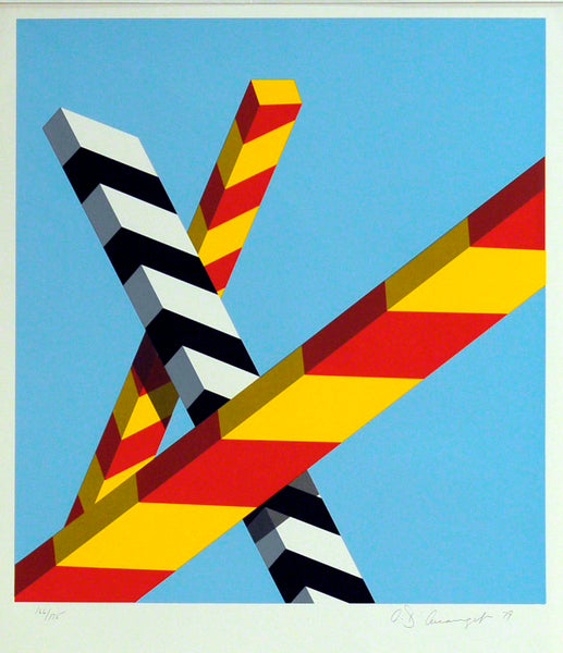 Sky Bars 1978 by Allan D'Arcangelo
