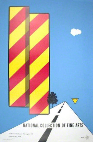 Yield, 1968, National Collection of Fine Arts by Allan D'Arcangelo