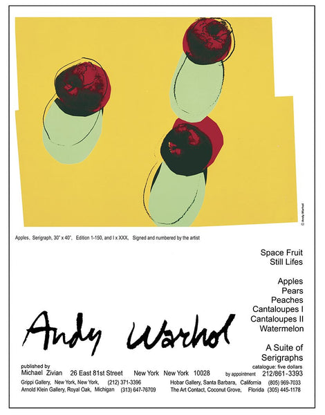 Andy Warhol APPLES