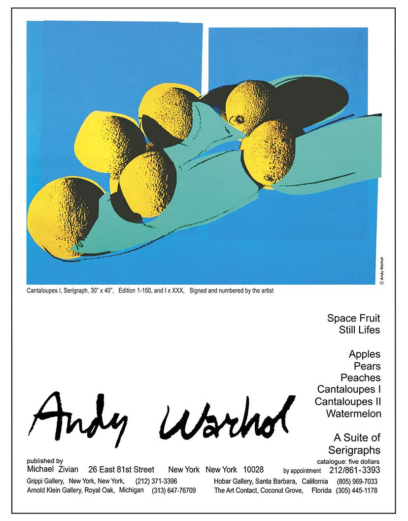 Andy Warhol Cantaloupes 1 (2)