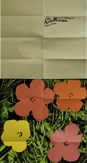 Andy Warhol Flowers Mailer