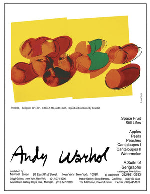 Andy Warhol PEACHES