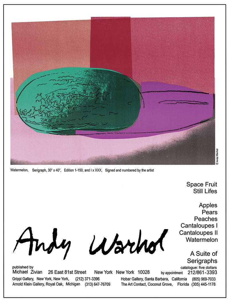 Andy Warhol Watermelon (2)