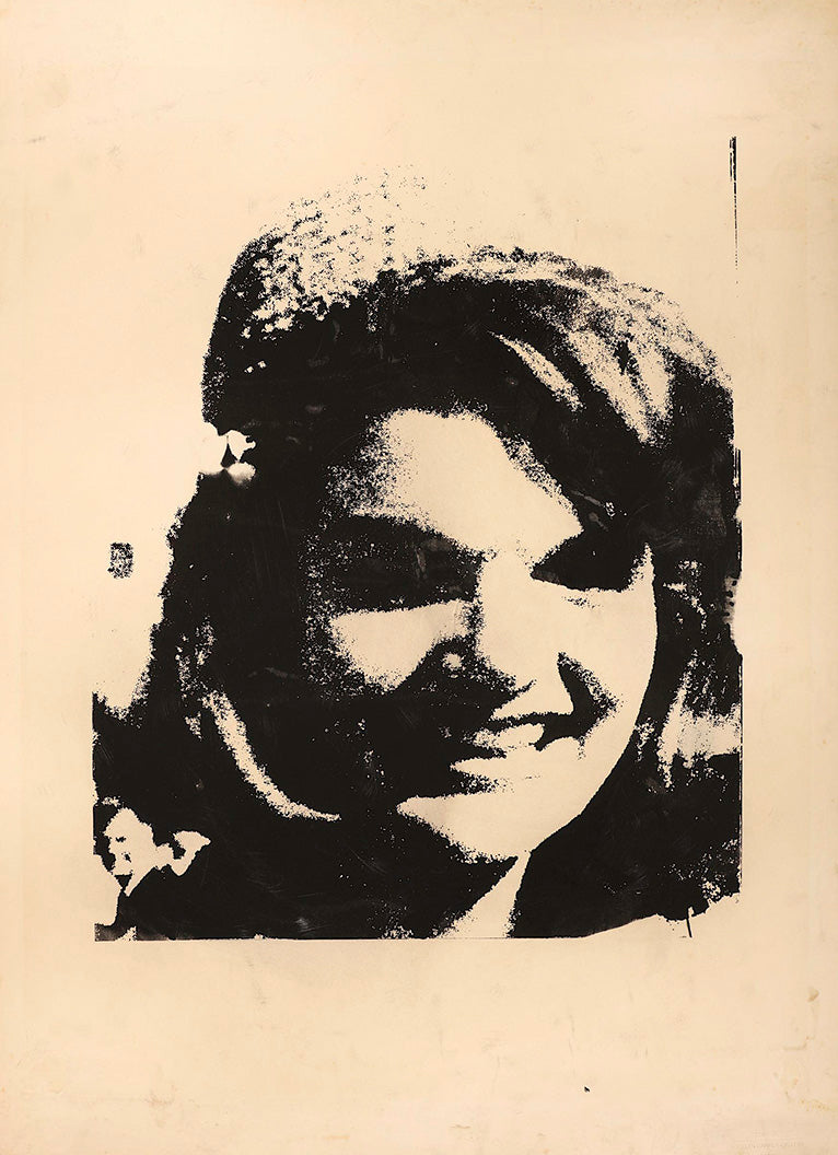 Jackie Kennedy  by Andy Warhol