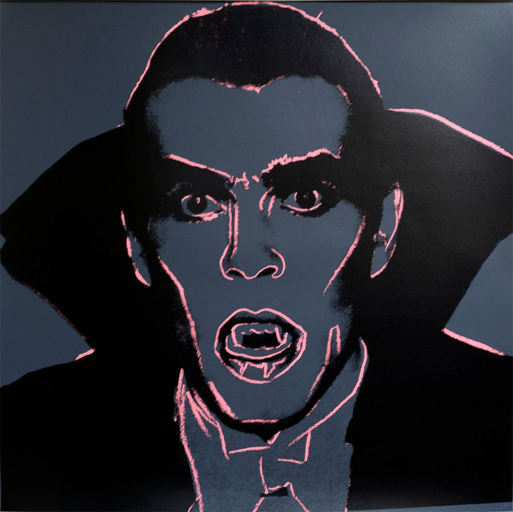 Dracula from Myths Portfolio by ANDY Warhol