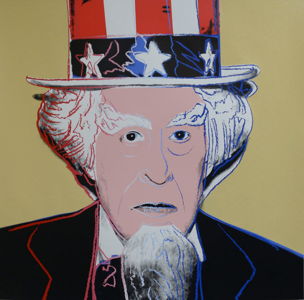 Uncle Sam from Myths Portfolio by ANDY Warhol