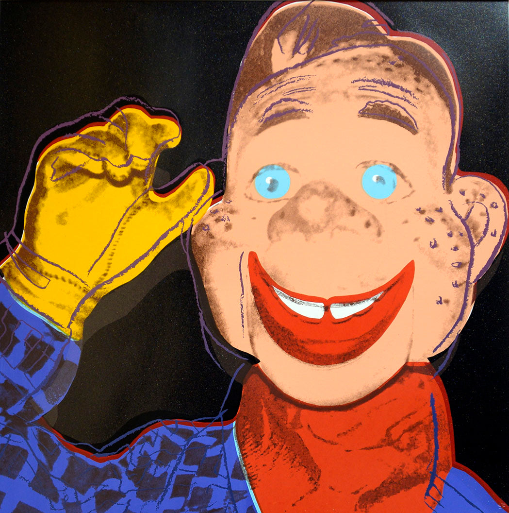 Howdy Doody from Myths Portfolio by ANDY Warhol