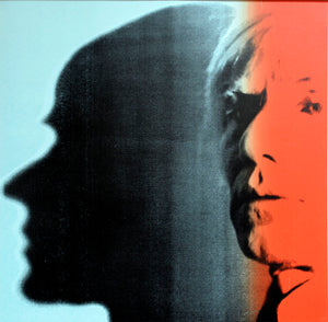 The Shadow from Myths Portfolio by ANDY Warhol