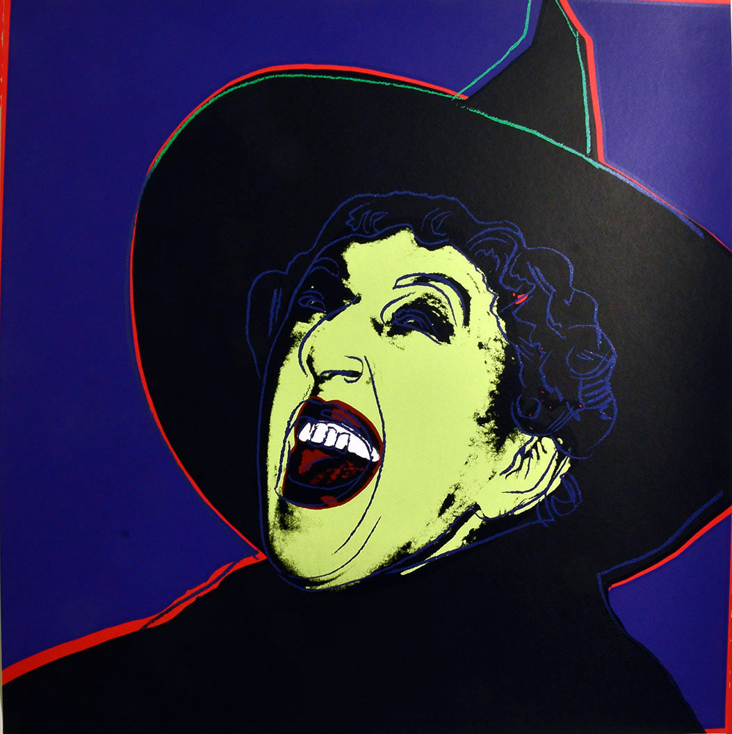 The Witch from Myths Portfolio by ANDY Warhol