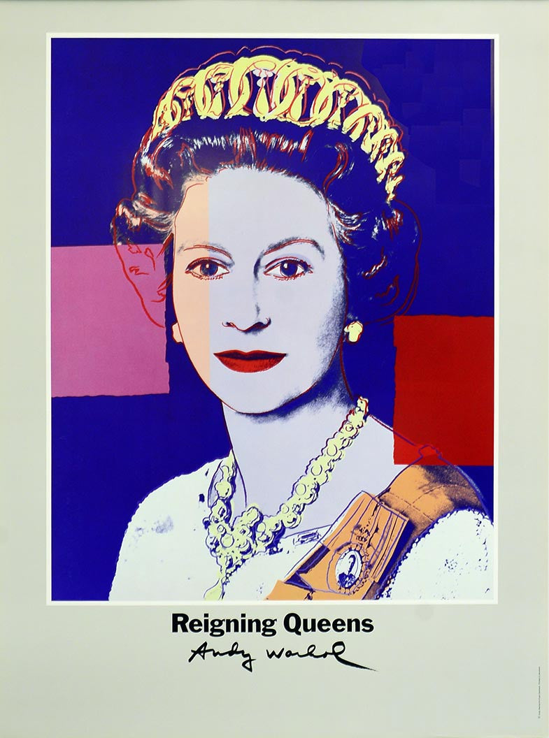 Queen Elizabeth II of England  by Andy Warhol