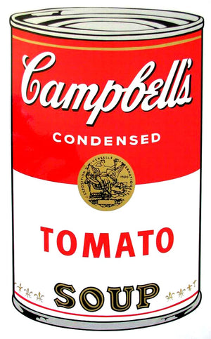 Campbell's Soup I, 1968,  Tomato Soup,  by Andy Warhol